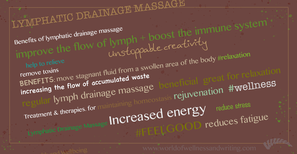 The benefits of lymphatic drainage massage