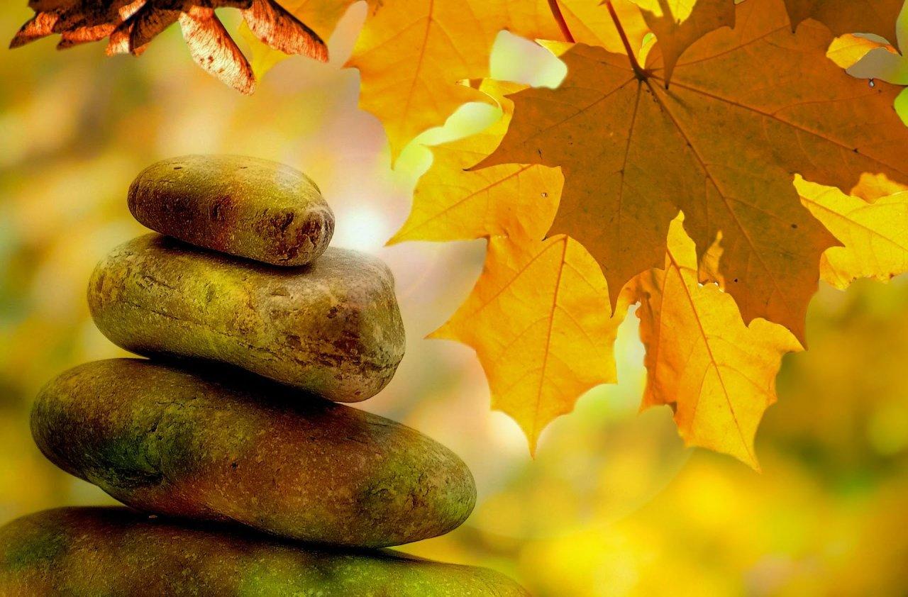Balancing stones - harmony, kintalini