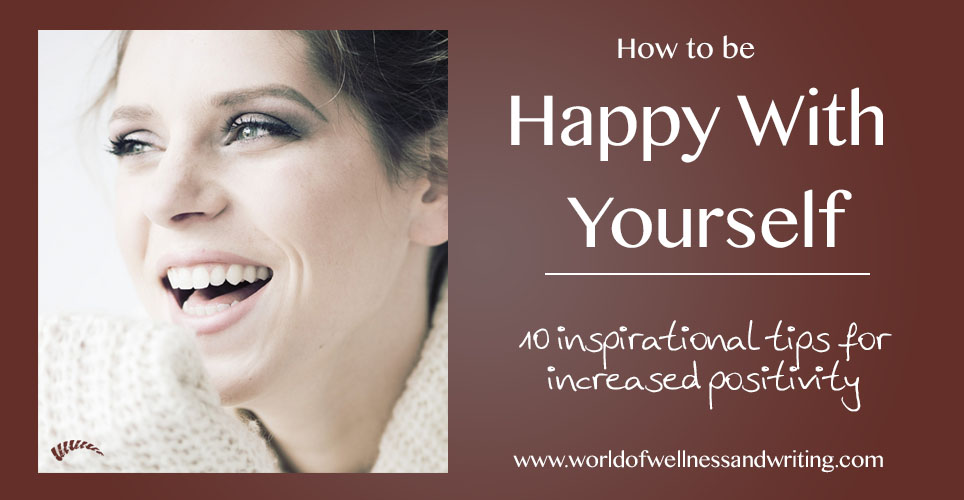 Inspirational self help book on how to be happy with yourself