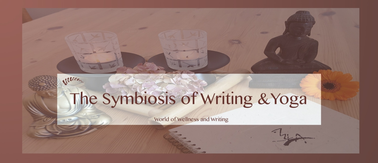 symbiosis of writing and yoga