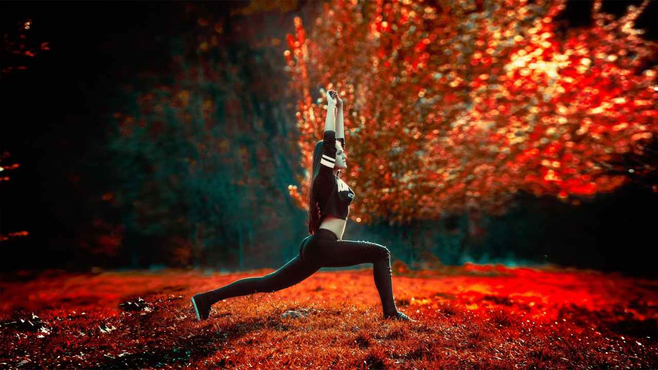 yoga to help beat writer's block