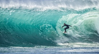 surfer, living sport - outside your comfort zone