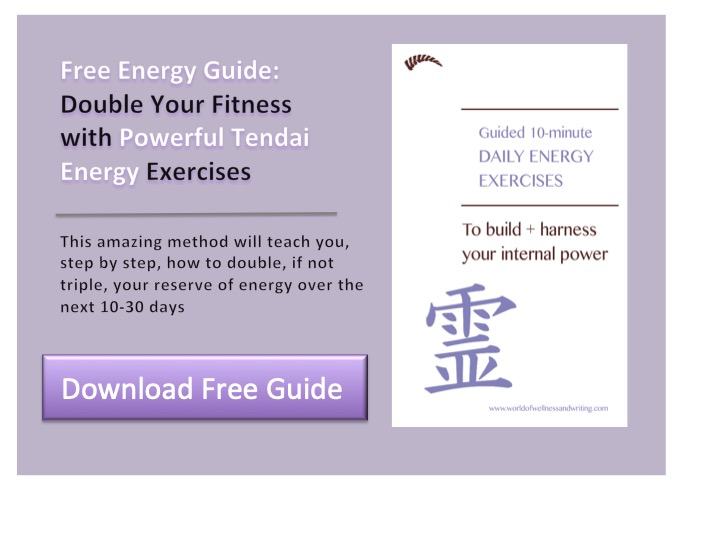 Energy Exercises Guide - a 10-minute routine to double your energy reserves, give you focus and help you find calm. With step-by-step instructions and illustrations.