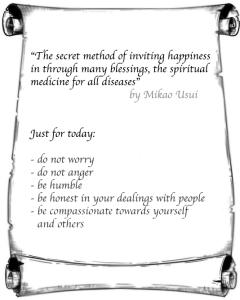 5 precepts for a happy life