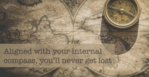 follow your internal compass