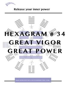 Sovereign Hexagram #34 Great Power