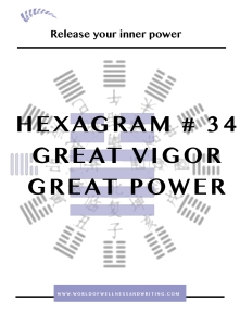 Sovereign Hexagram #34 Great Power