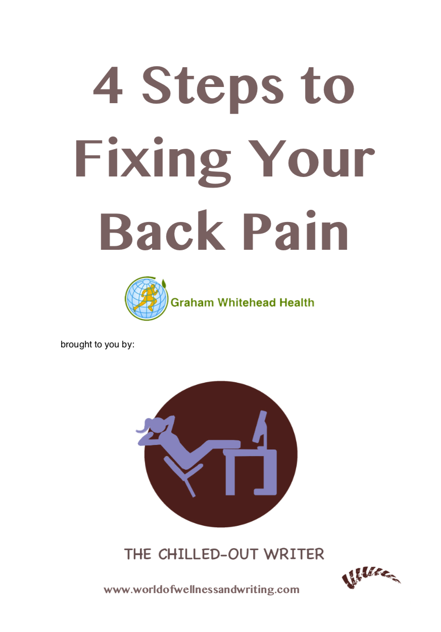 4 steps to fixing your back pain - free ebook
