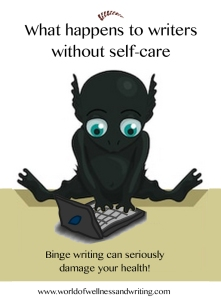 Discover the perils of binge writing and importance of self-care