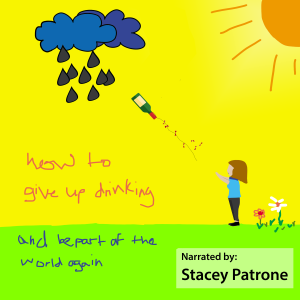 An inspirational audio book on how to give up drinking