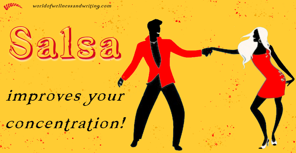 Learn how salsa improves your concentration as an active form of meditation in movement!