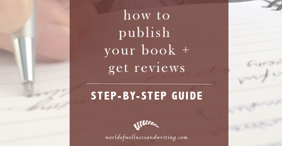 How to publish your book and get book reviews on amazon