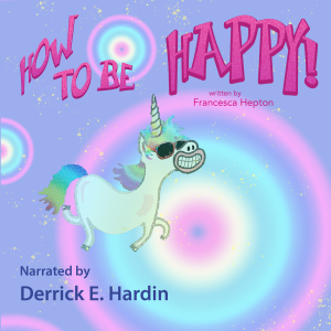 Uplifting personal development audio book: How to Be Happy. To boost your confidence and positivity