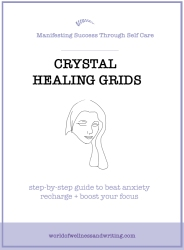 Use crystals to get your energies flowing freely. This will improve your focus, creativity and productivity as a writer.