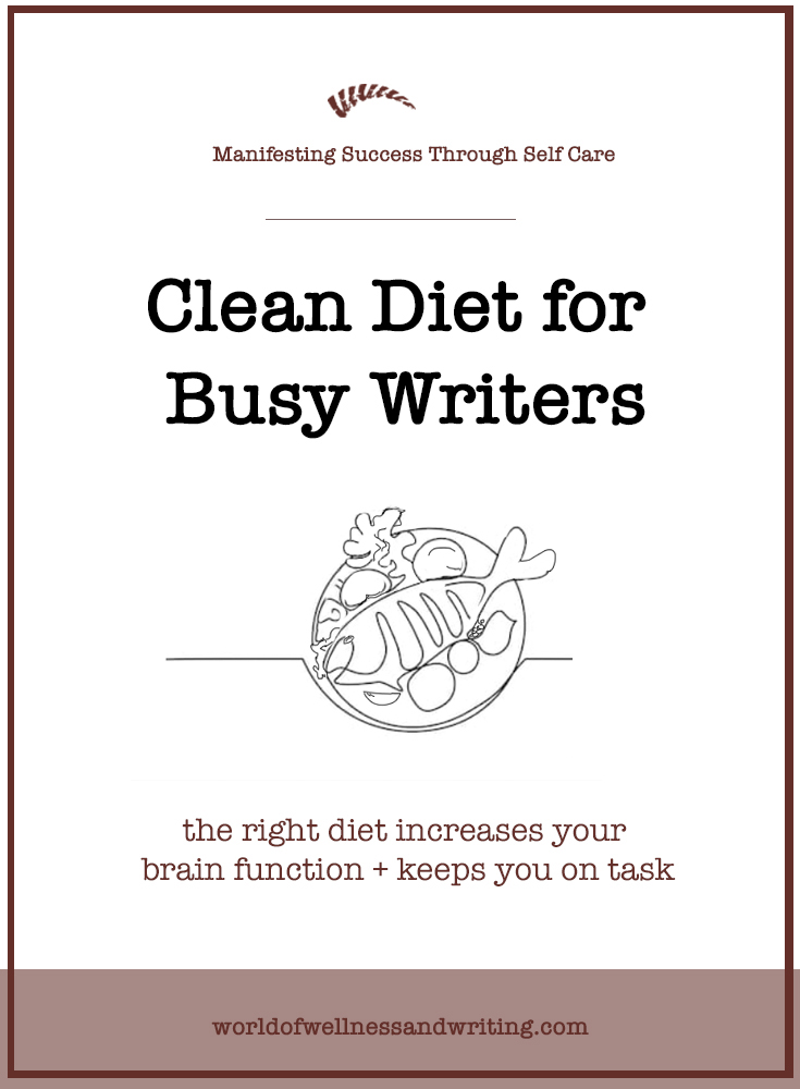 "How to make your food work for you. With this free ebook and clean diet plan even ""can't cook, won't cook"" writers will find the motivation to take control of their diet."
