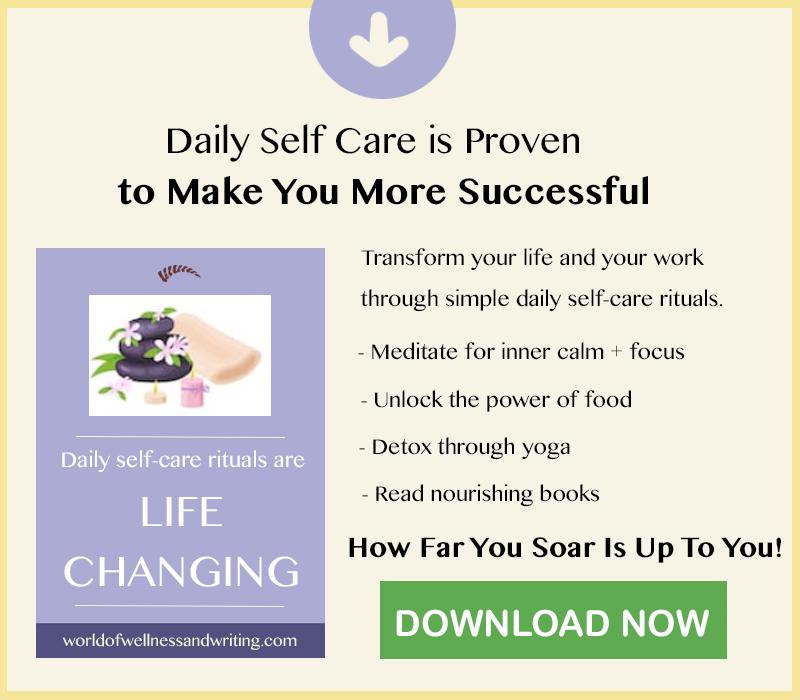 Daily Self-Care Rituals are proven to make you more successful