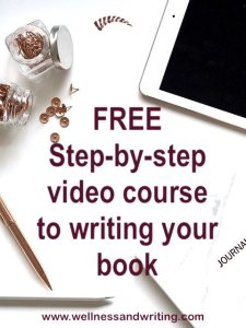 free step-by-step video course to writing your book